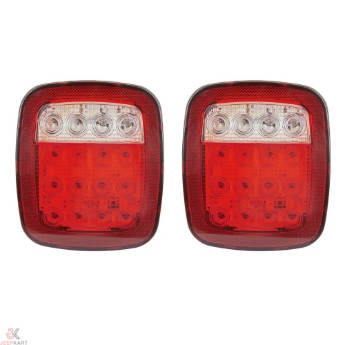 Jeep Wrangler Style LED Tail Light