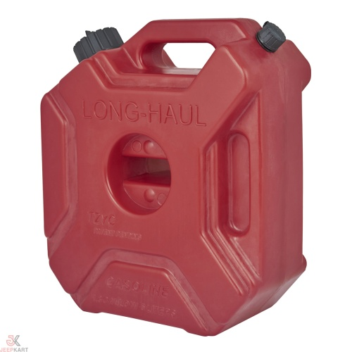 Fuelmate 5 Liter Plastic Jerrry Can, 10 Inch x 5 Inch x 11 Inch