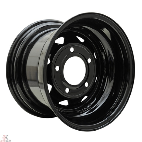 15x10 5x160 Black Steel Wheels For Bolero / Thar Crde / Scorpio