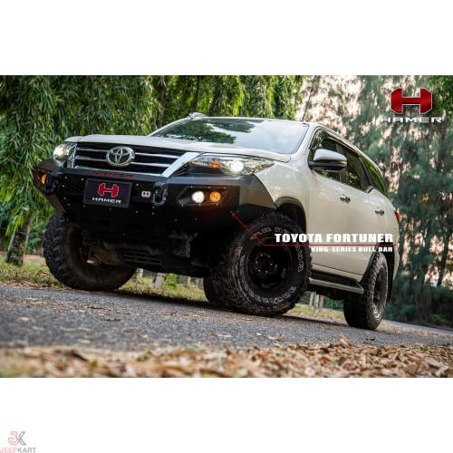 HAMER KING SERIES FRONT BUMPER FOR TOYOTA FORTUNER 2015+