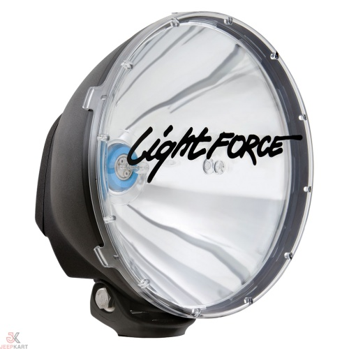 Lightforce XGT (DL240XGT) 240mm Advance High Performance Ultra-Bright Halogen Light for Offroading, Jeeps, Cars, ATV, and other automobiles - Set of 2 Pcs For Off road and On road use For SUVs, Offroaders and Pick ups
