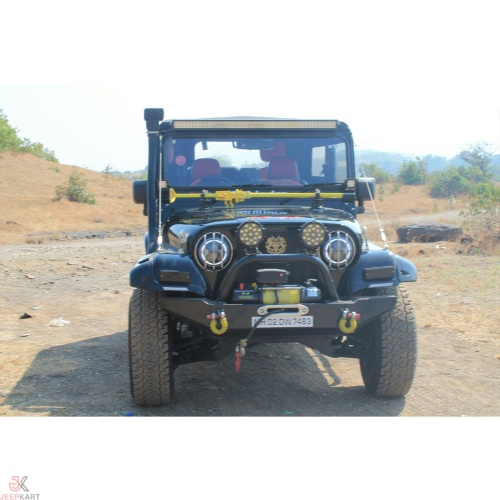 Mahindra Thar /540/550 Front bumper with winch plate