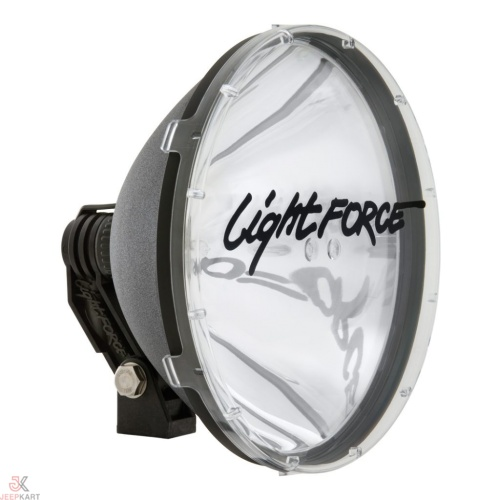 Lightforce Blitz 240 mm Advance Ultra-Bright Halogen Light for Offroading, Jeeps, Cars, Bikes, Royal Enfield, ATV, and Automobiles - Set of 2